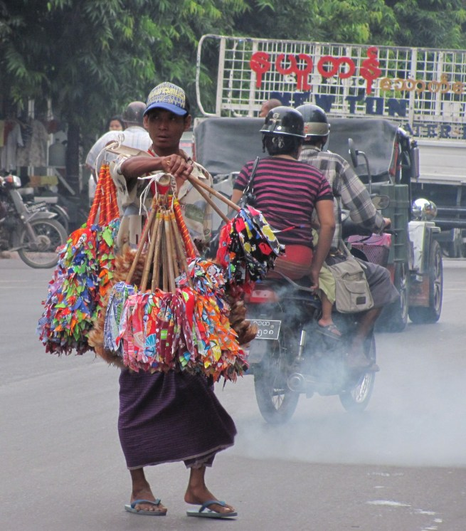 Pollution and chaos Mandalay