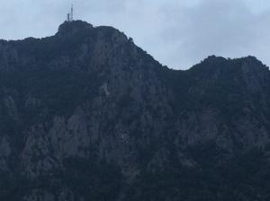 Zucco dell'Angelone cliff