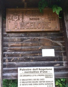Zucco dell'Angelone sign