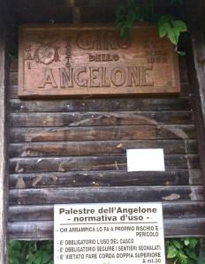 Zucco dell'Angelone sign